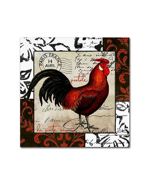 "Trademark Global Color Bakery 'Europa II' Canvas Art - 14"" x 2"" x 14"""
