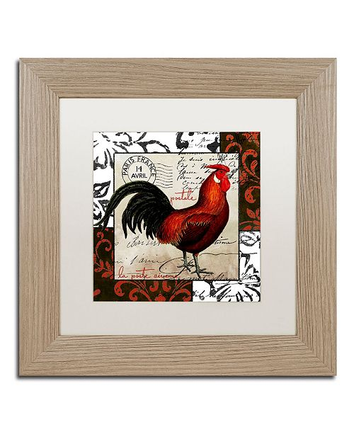 "Trademark Global Color Bakery 'Europa II' Matted Framed Art - 11"" x 0.5"" x 11"""
