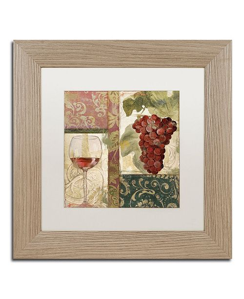 "Trademark Global Color Bakery 'Sofia I' Matted Framed Art - 11"" x 0.5"" x 11"""