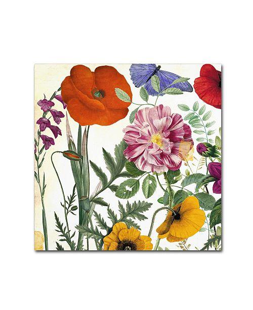 "Trademark Global Color Bakery 'Printemps II' Canvas Art - 14"" x 2"" x 14"""