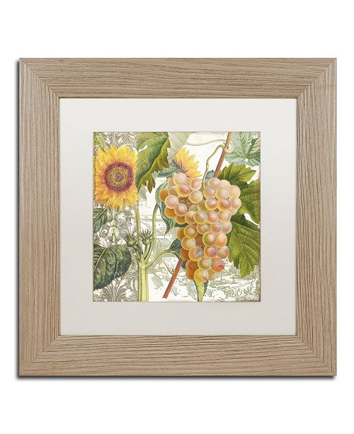 """Trademark Global Color Bakery 'Dolcetto IV' Matted Framed Art - 11"""" x 0.5"""" x 11"""""""