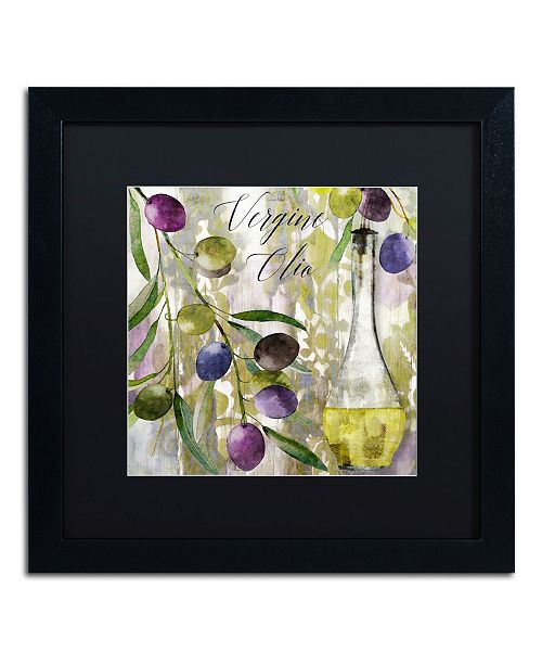 """Trademark Global Color Bakery 'Colors Of Tuscany II' Matted Framed Art - 16"""" x 16"""" x 0.5"""""""
