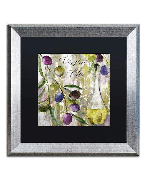 """Trademark Global Color Bakery 'Colors Of Tuscany II' Matted Framed Art - 16"""" x 0.5"""" x 16"""""""