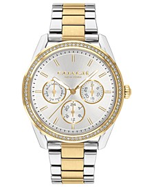 Women's Preston Two-Tone Stainless Steel Bracelet Watch 36mm