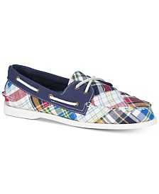 Sperry Men's A/O 2-Eye Patchwork Boat Shoes