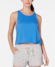 Jenni Stitch-Trim Pajama Tank Top, Created for Macy's