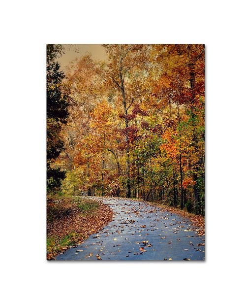 "Trademark Global Jai Johnson 'Autumn Splash' Canvas Art - 24"" x 18"" x 2"""