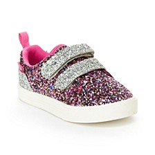 Toddler & Little Girls Lyric Glitter Sneaker