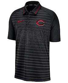 Nike Men's Cincinnati Reds Stripe Game Polo