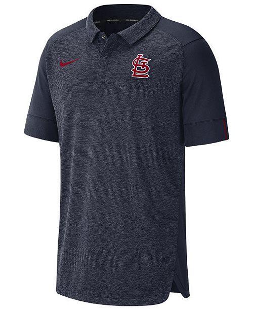 Nike Men's St. Louis Cardinals Elite AC Polo