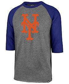 '47 Brand Men's New York Mets Throwback Club Raglan T-Shirt