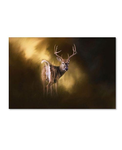 "Trademark Global Jai Johnson 'Nine Pointer' Canvas Art - 24"" x 16"" x 2"""