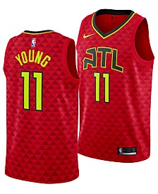 Nike Men's Trae Young Atlanta Hawks Statement Swingman Jersey