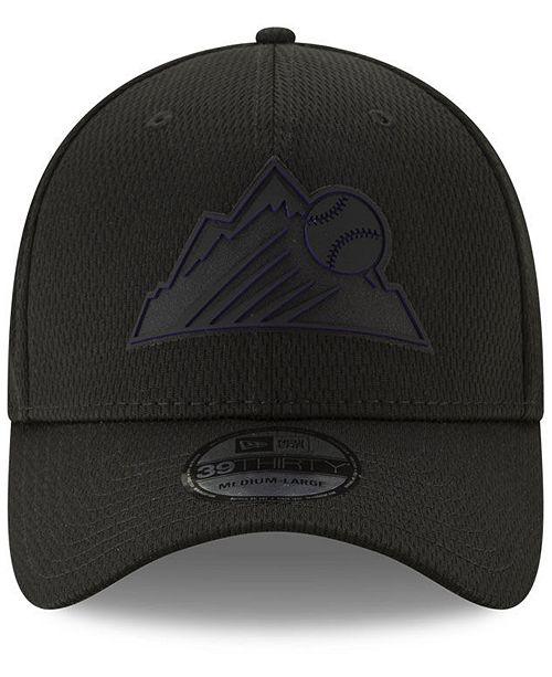 timeless design 103fc 01275 ... New Era Colorado Rockies Clubhouse 39THIRTY Cap ...