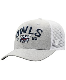 Top of the World Florida Atlantic Owls Notch Heather Trucker Cap