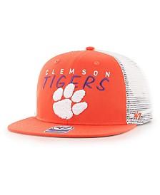 '47 Brand Big Boys Clemson Tigers Wordmark Captain Snapback Cap