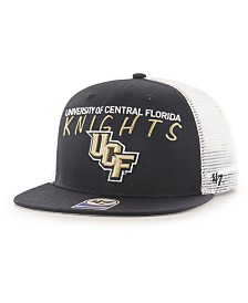 '47 Brand Big Boys University of Central Florida Knights Wordmark Captain Snapback Cap