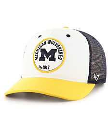 '47 Brand Michigan Wolverines Swell MVP Trucker Snapback Cap