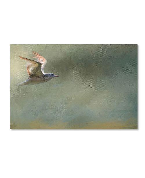 "Trademark Global Jai Johnson 'A Day At The Beach 2' Canvas Art - 32"" x 22"" x 2"""