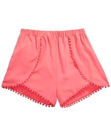 Epic Threads Big Girls Challis Shorts, Created for Macy's