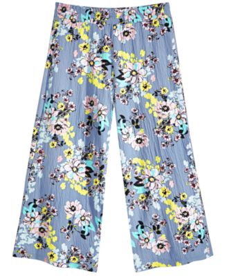 Big Girls Floral-Print Culotte, Created for Macy's