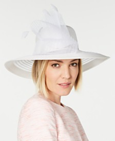 August Hats Sheer Wide-Brim Hat, Created for Macy's