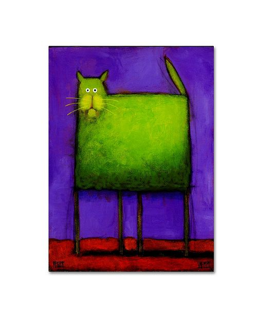 "Trademark Global Daniel Patrick Kessler 'Green Trouble' Canvas Art - 47"" x 35"" x 2"""