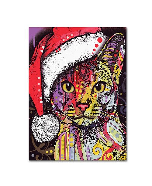 "Trademark Global Dean Russo 'Abyssinian Christmas Edition' Canvas Art - 32"" x 24"" x 2"""