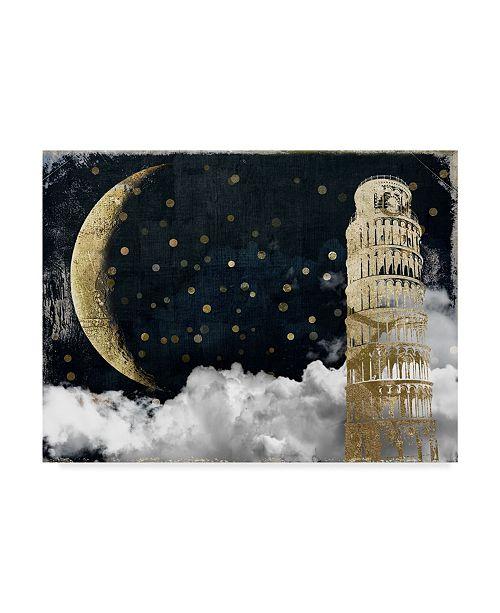 "Trademark Global Color Bakery 'Cloud Cities Pisa' Canvas Art - 19"" x 14"" x 2"""