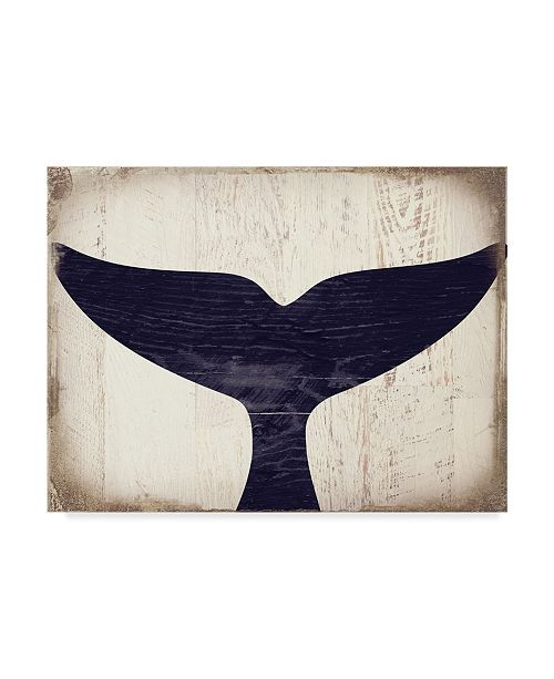 "Trademark Global Color Bakery 'Humpback 1' Canvas Art - 19"" x 14"" x 2"""