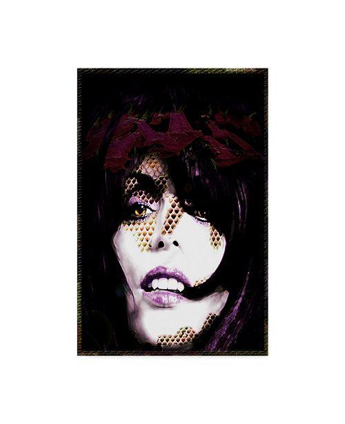 "Trademark Global Dana Brett Munach 'Hunger' Canvas Art - 24"" x 16"" x 2"""