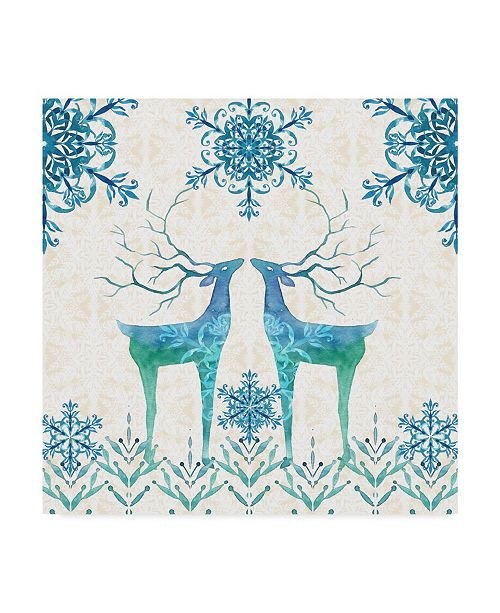 "Trademark Global Irina Trzaskos Studio 'Winter III' Canvas Art - 35"" x 35"" x 2"""