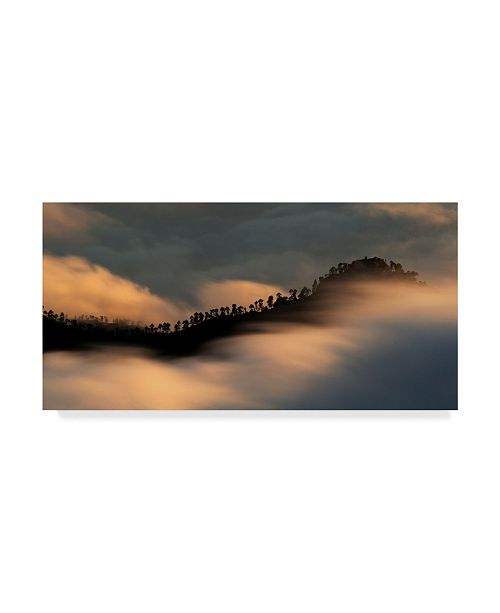 "Trademark Global Daniel Montero 'Sailing The Clouds' Canvas Art - 19"" x 10"" x 2"""
