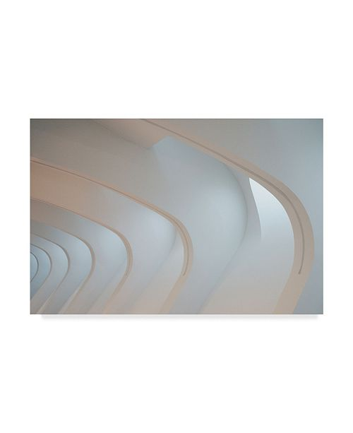 "Trademark Global Denise Ann 'Light Angles' Canvas Art - 32"" x 2"" x 22"""