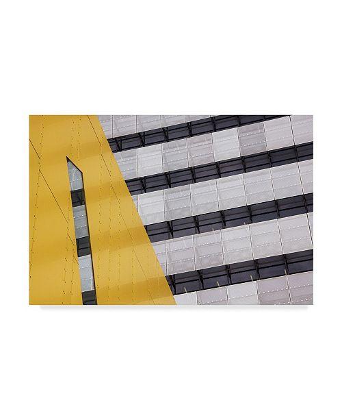 "Trademark Global Jacqueline Hammer 'Continuation' Canvas Art - 32"" x 2"" x 22"""