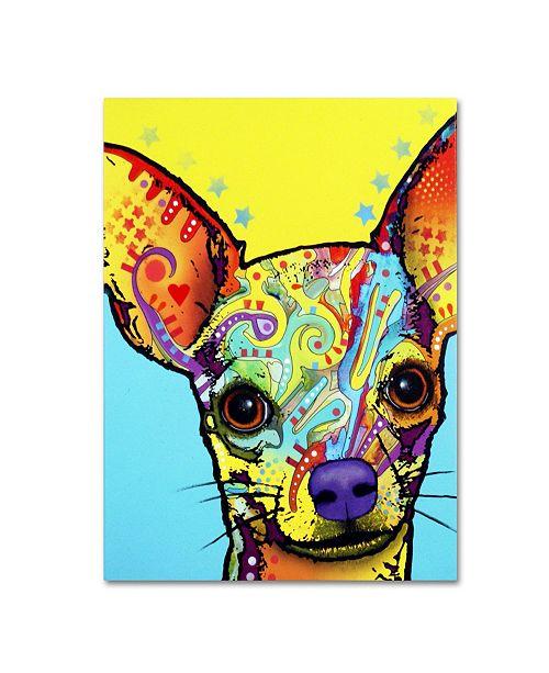 """Trademark Global Dean Russo 'Chihuahua' Canvas Art - 18"""" x 24"""" x 2"""""""