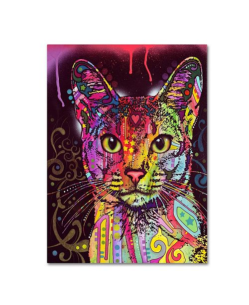 "Trademark Global Dean Russo 'Abyssinian' Canvas Art - 19"" x 14"" x 2"""