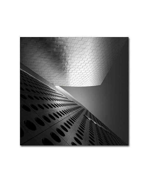 "Trademark Global Dave MacVicar 'Prada' Canvas Art - 14"" x 14"" x 2"""