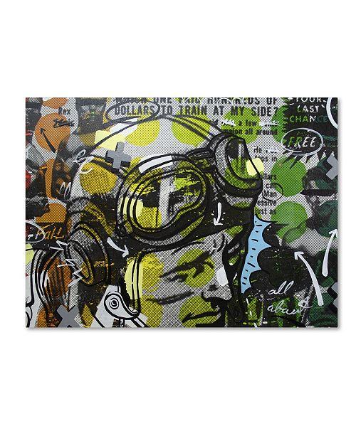 "Trademark Global Dan Monteavaro 'He Man' Canvas Art - 24"" x 18"" x 2"""
