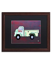 """Design Turnpike 'Pickup Truck' Matted Framed Art - 20"""" x 16"""" x 0.5"""""""
