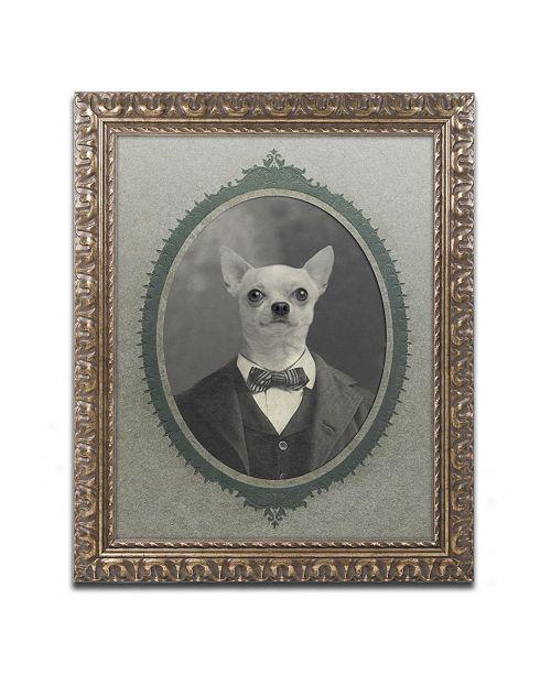 """Trademark Global J Hovenstine Studios 'Dog Series #1' Ornate Framed Art - 20"""" x 16"""" x 0.5"""""""