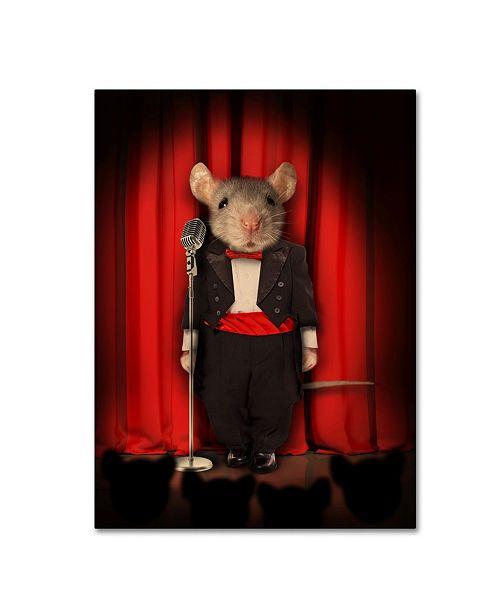 "Trademark Global J Hovenstine Studios 'Mice Series #1.5' Canvas Art - 32"" x 24"" x 2"""