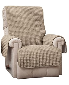 P/Kaufmann Home Puff Recliner/Wing Protector