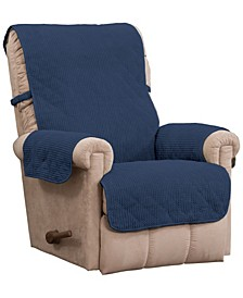 Ripple Plush Recliner Protector