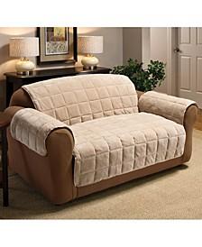 Plush Sofa Protector