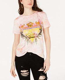 GUESS Tie-Dye Graphic T-Shirt