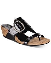 5569535e6 Impo Geena Hidden Thong Wedge Sandals