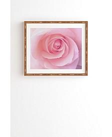 Blush Pink Rose Framed Wall Art