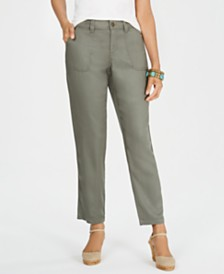 Style & Co Petite Tencel® Tapered Pants, Created for Macy's