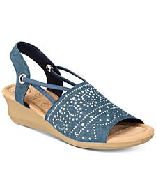 Gabria Wedge Sandals